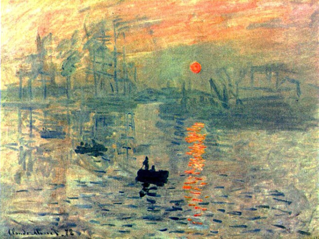 Monet-Painting-Impression-Sunrise